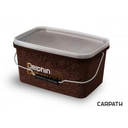 Găletă pătrată cu capac Delphin CARPATH 10L