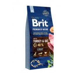 Hrana uscata pentru caini Brit Premium, Light, 15 Kg