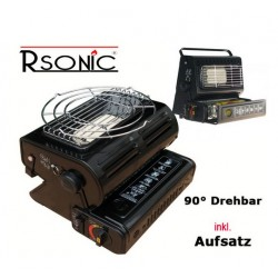 INCALZITOR CORT RSONIC PORTABLE GAS HEATER 1,3KW